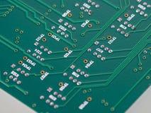 circuit de panneau estampé Photographie stock