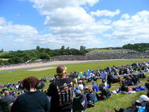 Circuit de parc de Donington. Photos stock