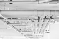 Circuit de refroidissement d'ingénierie de conduite d'eau Photo stock
