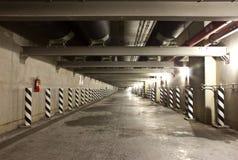 Circuit de refroidissement de tuyau dans des tunnels images stock