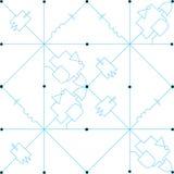 Circuit de Tesselation Photographie stock libre de droits