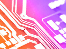 Circuit electronic board royalty free stock photos