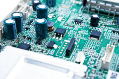 Circuit of Electronics Royalty Free Stock Images