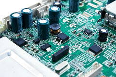 Circuit of Electronics Royalty Free Stock Photo