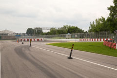 Circuit Gilles Villeneuve in Montreal Quebec Canada Stock Photo