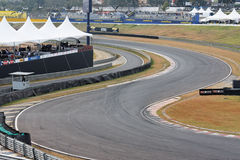 Circuit grand d'Interlagos Prix Photos stock