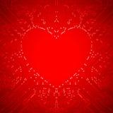 Circuit Heart Royalty Free Stock Image