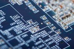 Circuit imprimé comme fond Image stock