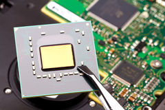 Circuit intégré image libre de droits