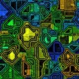 Circuit intégré illustration stock