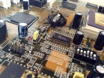 Circuit and integrated circuits Stock Photography
