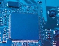 Circuit électronique Images libres de droits