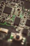 Circuit micro électronique Images libres de droits