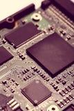 Circuit micro électronique Photos stock