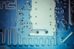 Circuit, Motherboard, computer and electronics modern background Royalty Free Stock Image