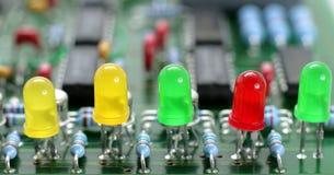 Circuit-panneau Photographie stock libre de droits