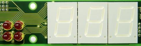 Circuit-panneau Photographie stock