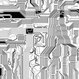 Circuit pattern Stock Photo