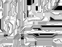 Circuit pattern Royalty Free Stock Image