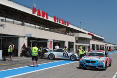 Circuit Paul Ricard Stock Image