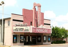 The Circuit Playhouse, Memphis Tennessee stock photo