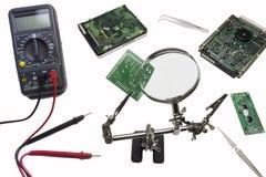 Circuit repair royalty free stock images