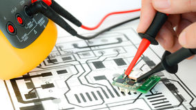 Circuit Repairing Stock Photos
