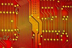 Circuit rouge Image stock