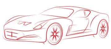 Circuit sports car business class Stock Photography