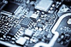 Circuit stiger ombord makro Royaltyfria Foton