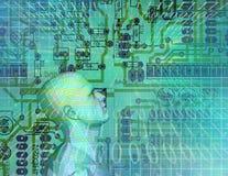 Circuit Technology Stock Image