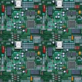 Circuit Tiled. A circuit image that is tileable Royalty Free Stock Image