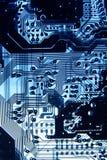 Circuit4 напечатанное рентгеновским снимком Стоковая Фотография RF