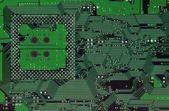 circuitboard计算机 库存图片
