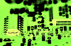 Circuitboard. Close up of a circuitboard Royalty Free Stock Image