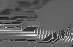 Circuitboard. Close up of a circuitboard Stock Images