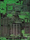 Circuitboard del calcolatore Fotografie Stock Libere da Diritti