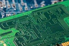 Circuitboard del computer Fotografie Stock