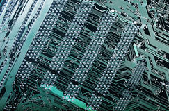 Circuitboard, digital highways Royalty Free Stock Image