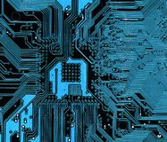 Circuitboard do computador imagens de stock