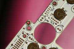 circuitboarddator Arkivbild
