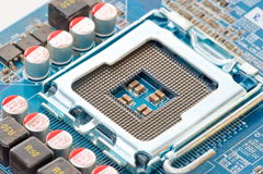 Circuitboards υπολογιστών Στοκ φωτογραφία με δικαίωμα ελεύθερης χρήσης