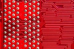 Circuitboards d'ordinateur Images libres de droits