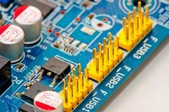 Circuitboards do computador Foto de Stock