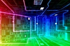 Circuiti del calcolatore Immagini Stock