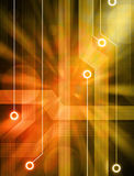 Circuiti della priorità bassa di tecnologia illustrazione vettoriale