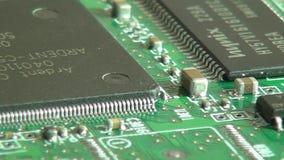 Circuiti, elettronica, computer video d archivio