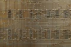 Circuiti elettronici. fotografia stock