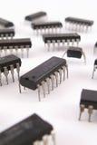 Circuiti integrati del chip Fotografie Stock
