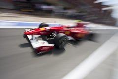 Circuito 2010 de la calle de F1 Valencia imagen de archivo libre de regalías